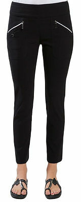 NWT Ladies JAMIE SADOCK BLACK Skinnylicious Golf Ankle Pants - sizes 6, 8 & 10