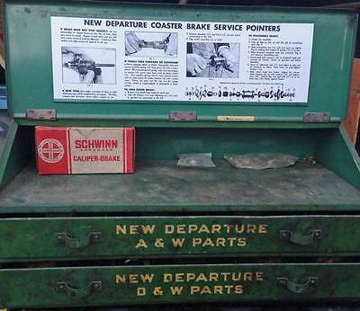 New Departure bicycle hub cabinet CARD Instruction POSTER new SERVICE POINTERS
