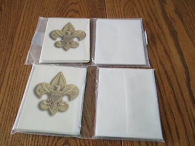 Boy Scouts Special Occasion Note/Thank You Cards (32 Cards and 32 Envelopes)