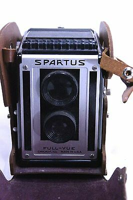 Spartus Full Vue Vintage Camera in Case Box Style