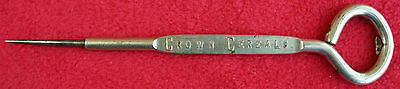 Vintage Crown Cereal & Flour Advertising Ice Pick