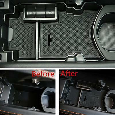 Car Central Console Armrest Storage Box ABS For Honda Civic 10th Gen 2016 2017