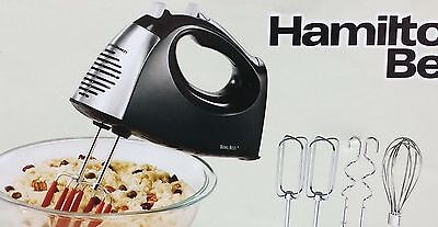 Hamilton Beach Soft Scrape 6 Speed Hand Mixer with Storage Case