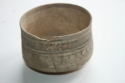 Ancient Indus Valley Pottery Cup 2800 1800 Bc Harappan