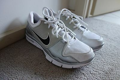 Nike Free 'tr1' Trainers White/silver Mens Shoes Size 10