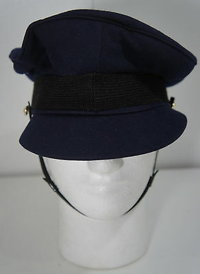 Vintage Australian Air Force Military Officers Peaked Hat Emerco DOS 6 7/8 ww2