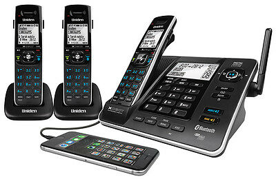 Uniden 8355+2 Cordless Phone with 3 Handsets