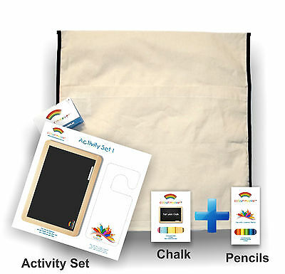 School/Child Care Chair Bags With Colouring Kit Pkts: 25-100