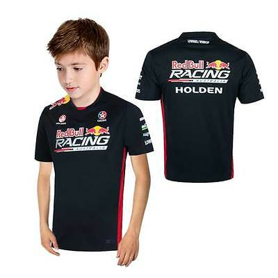 Red Bull Racing Australia Kids Team T-Shirt Tee Navy Size 2 Only