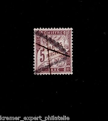 FRANCE OBLITERE TIMBRE-TAXE n° 27 / USED / SIGNE SCHELLER