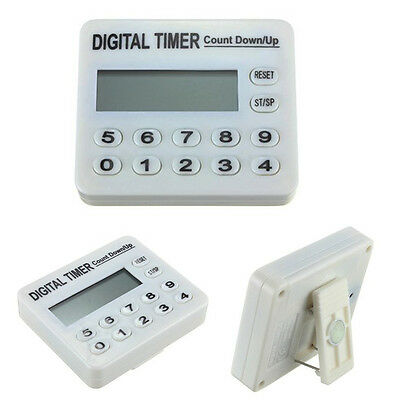 Digital Timer Vibration/Buzz Alarm Clock/ Count Down Remind Accurate