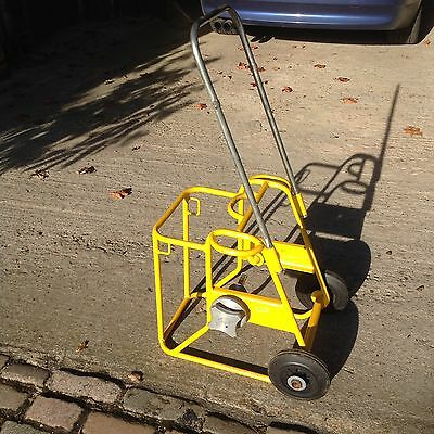 Wheeled Cable Reel Dispenser Trolley Drum Stand Drop Line