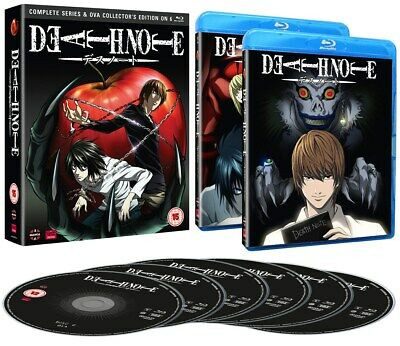 Death Note: Complete Series and OVA Collection (Collector's Edition) [Blu-ray]