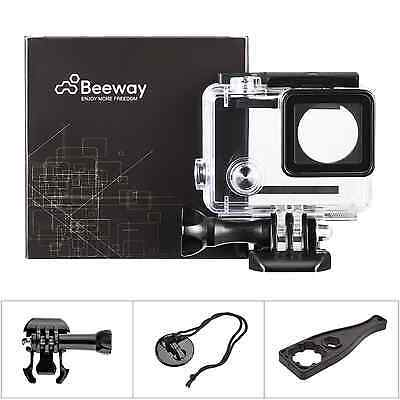 Beeway® Replacement Waterproof Housing Case for Gopro Hero 4 Action Camera