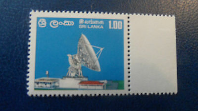 Sri Lanka 1976 Sg 617 Opening Of Satellite Station  Mnh