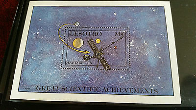 Lesotho 1987 Sg Ms765 Great Scientific Discoveries Mnh