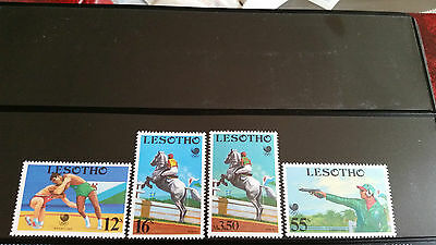 Lesotho 1988 Sg 838-841 Olympic Games (2Nd Issue) Mnh