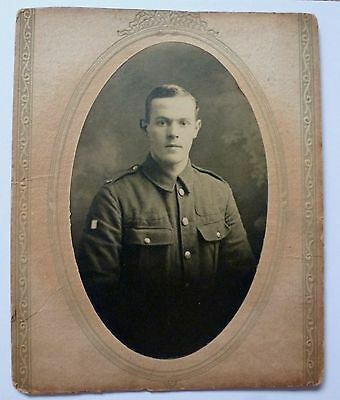Photograph Of Unknown Soldier Probably King's Regiment