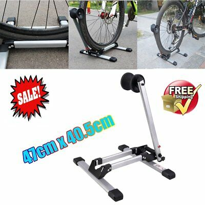 Bike Bicycle Racks Portable Display Stand L-Type Single Parking Folding Stand UK