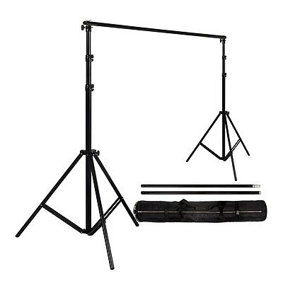 Photo Video Studio Backdrop Photography Background Support Stand Frame 2*2M