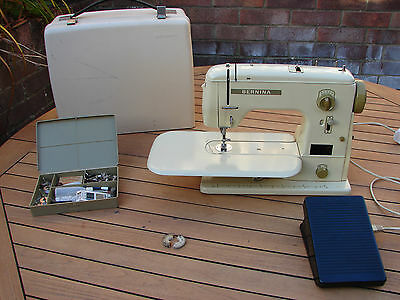 Bernina 707 Sewing Machine Free Arm + Feet TLC Needs Repair Global Shipping