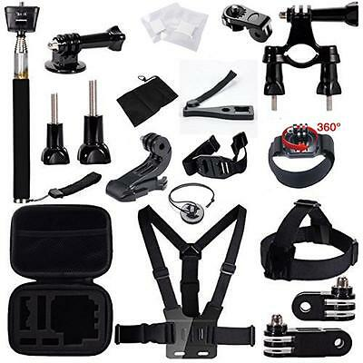 Gopro Accessories Bundle Kit For Gopro Hero Session 4 Action Sports Camera