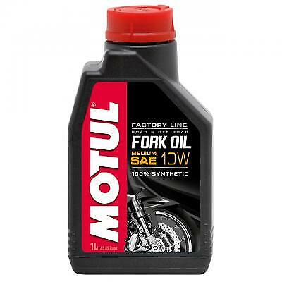 MOTUL Aceite de suspension FORK OIL FACTORY LINE MEDIUM 10W 1 L
