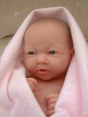 Berenguer doll NEWBORN BABY GIRL anatomically correct - for play or to reborn