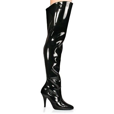 Ladies thigh high boots. Pleaser Vanity 3010. Size 7.