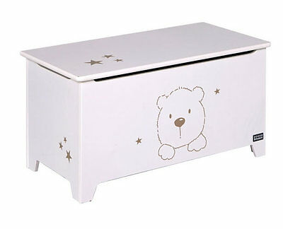 Brand new Tutti Bambini bears toy storage box in beech white with delivery