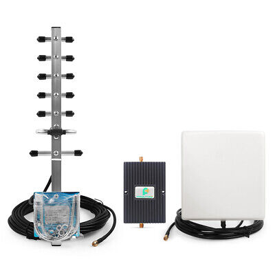 1700MHz 70dB Phone Signal Booster Repeater + Antennas  for 4G LTE Bell Mobility