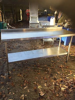 Large Sissons stainless Steel Catering Table 180cm X 65 Cm