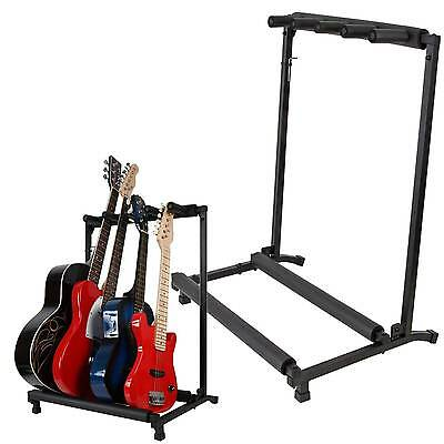 AudioKraft GS4 - 4 Way Guitar Stand - Folding Rack - Free Express Delivery