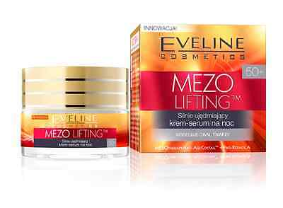 EVELINE MEZO LIFTING MESOTHERAPY ANTI AGE face cream serum firming night 50+