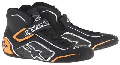 FIA ALPINESTARS race shoes TECH 1-T BLACK ORANGE 1T NEW 2017 racing rally BOOTS