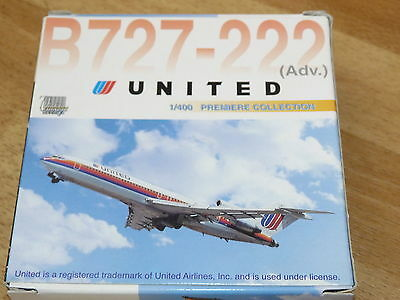 Dragon Wings 1:400 Boeing 727-222 - United Airlines 55225