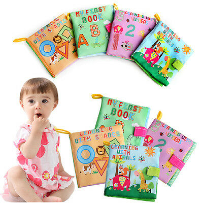 Boy Cognition Toy Infant Exquisite Baby Fashion Learning Cloth Book Girl New Kid