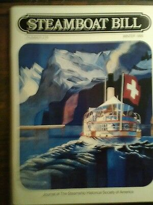 Steamboat Bill Journal Of The Steamship Hitorical Society Of America