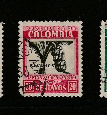 A2P59 COLOMBIA AIR POST STAMP 1932-39 20c USED