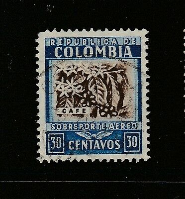 A2P59 COLOMBIA AIR POST STAMP 1932-39 30c USED