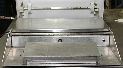 Heat Sealing Equipment Stainless 625-A Table Top Wrapper, Meat Wrapping Station