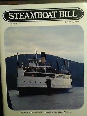 Steamboat Bill Magazine Number 165 Back Issue  Spring 1983