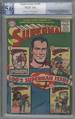 SUPERMAN 100 - PGX 5.0 -  Aniversary Issue - DC Comics