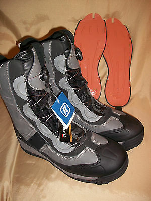 """Size 13  Korkers IceJack BOA 600g 10"""" Snow & Ice Fishing & Hiking  Winter Boots"""