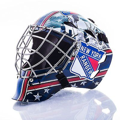 Franklin Sports GFM 1500 Goalie Mask - New York Rangers
