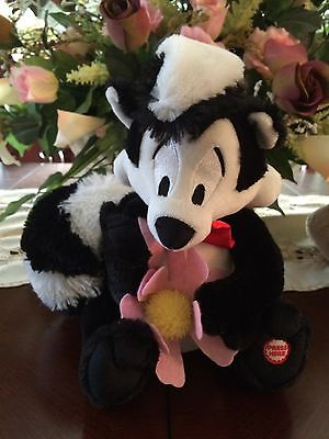 "Hallmark ""Pepe Le Pew"" Taking Stuffed Toy"