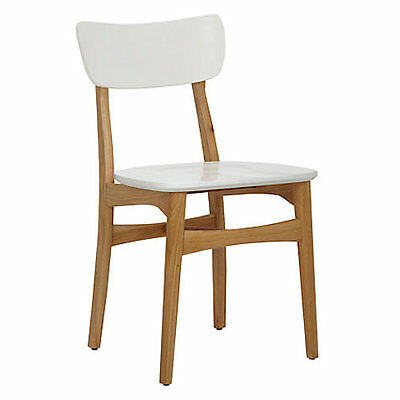 House By John Lewis Asta Dining Chair, White