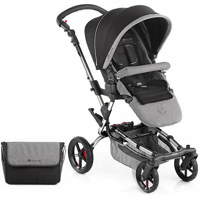 Brand new in box Jane epic pushchair soil chrome with bag & raincover from 0m+
