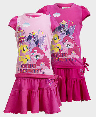 MY LITTLE PONY 2 piece outfit/set. Skirt & Top Age 2/3/4/5/6 BRAND NEW