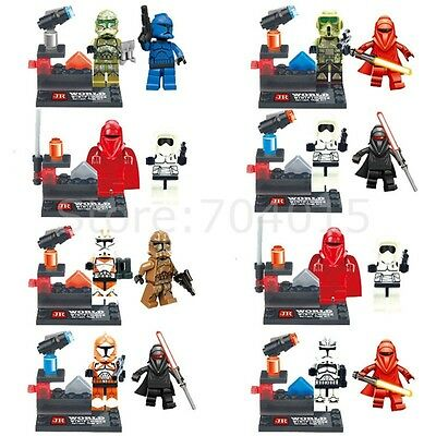 Star Wars Series 16 Action Minifigures Building Toys Blocks Children Gift In bag